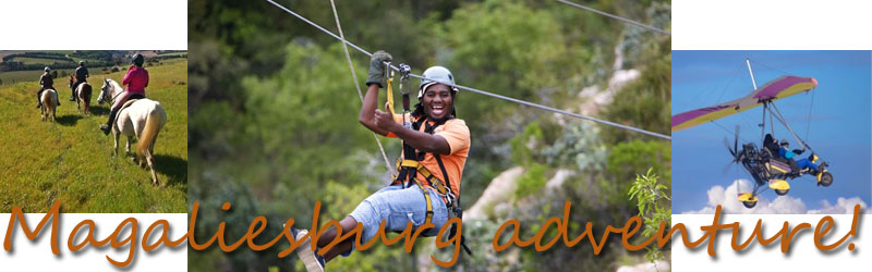 Magaliesburg adventure and activites